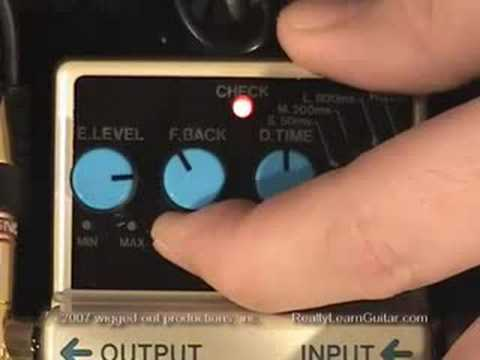 Jeff's Tip's - 14. Delay Pedal