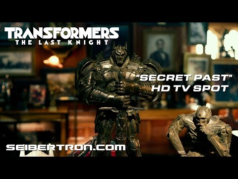 "Transformers The Last Knight ""Secret Past"" TV Commercial featuring Anthony Hopkins"