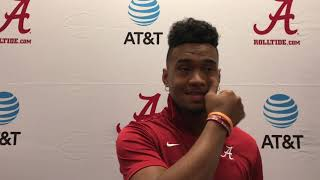 Tua reacts to Tank for Tua story line