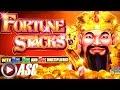 *NEW* FORTUNE STACKS   Konami - BIG WIN!! Slot Machine Bonus