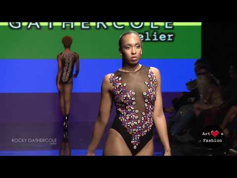 ROCKY GATHERCOLE at Art Hearts Fashion Los Angeles Fashion Week