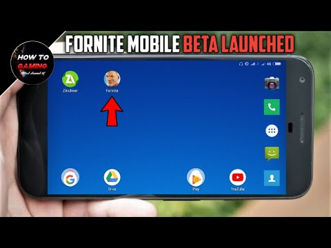 ||FINALLY FORTNITE MOBILE BETA APK LAUNCHED||APK+OBB||HOW TO DOWNLOAD FORTNITE MOBILE ON ANDROID||
