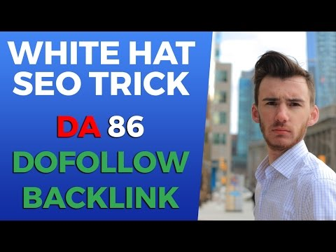 The White Hat SEO Method I Used To Get A DA86 Dofollow Backlink