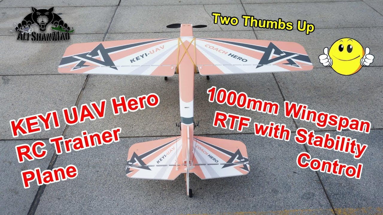 The Best RC Trainer Plane to Learn to Fly RC Planes