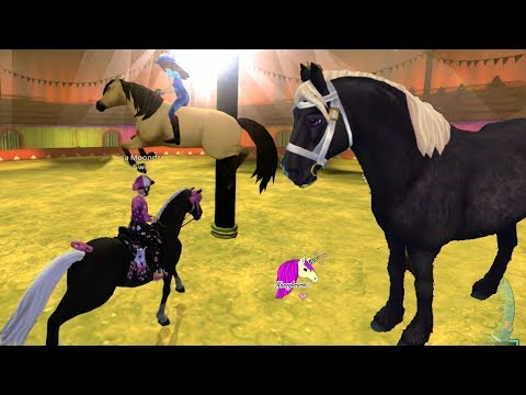 Spirit At The Summer Circus ! Star Stable Online Horse Let's Play Quest Game