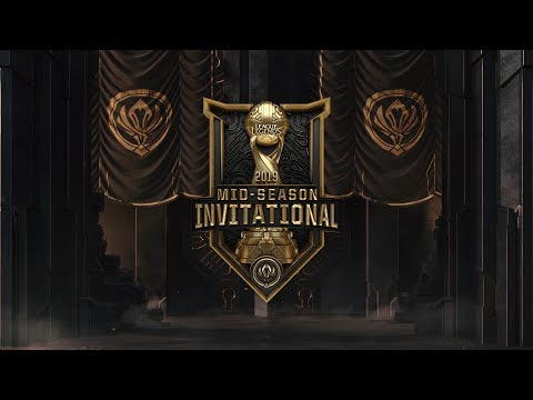 MSI 2019 Semifinals Day 2 SKT vs G2