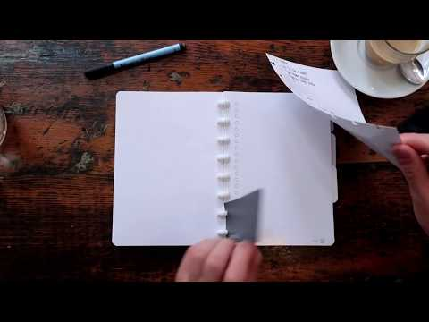 GreenBook - the best whiteboard notebook to customise