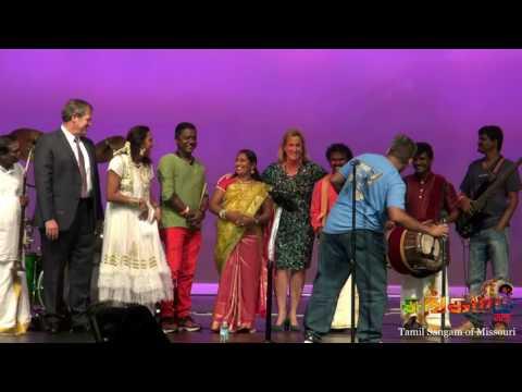 AnnWagner Tamil Folk Dance @ Missouri Tamil Sangam