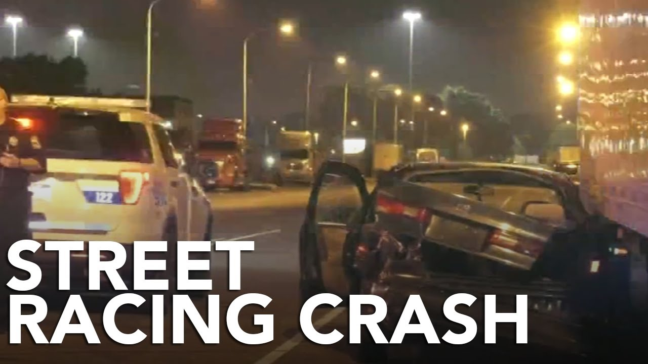 Illegal street racing turns violent, woman hit by out of control car