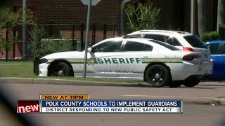 Polk County School Board votes to hire 90 armed School Safety Guardians