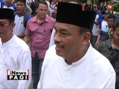 Pilkada Tebing Tingg, Umar - Oki Dengarkan Keluhan Warga - INews Pagi 10/11