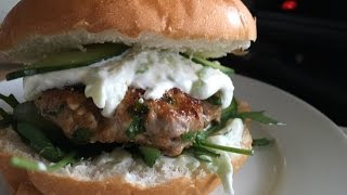 Greek Tzatziki Burger - Episode 159 - Baking with Eda
