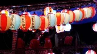 城内町会盆踊り2016年8月14日