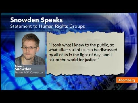 Edward Snowden Emerges To Ask Russia For Asylum