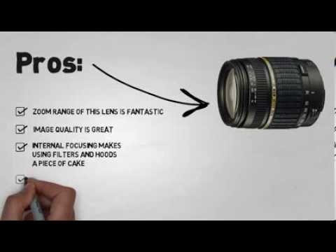 Tamron AF 18-200mm Lens f/3.5-6.3 XR Macro Digital Zoom Lens for ...