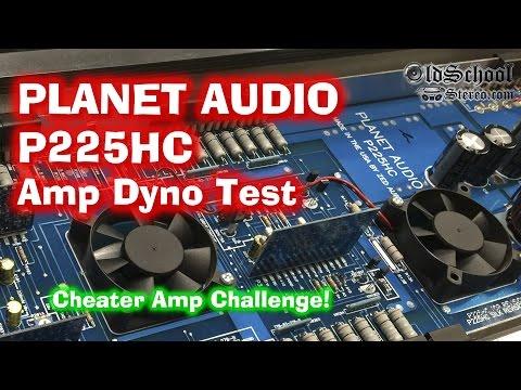 Planet Audio P225HC Cheater Amp Challenge Amp Dyno Test Zed Audio