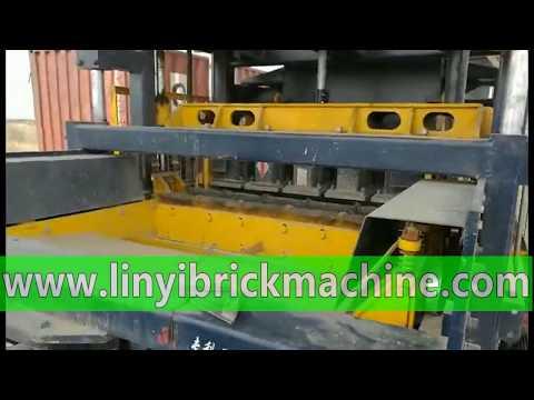Africa automatic hydraulic concrete brick block production line, block factory