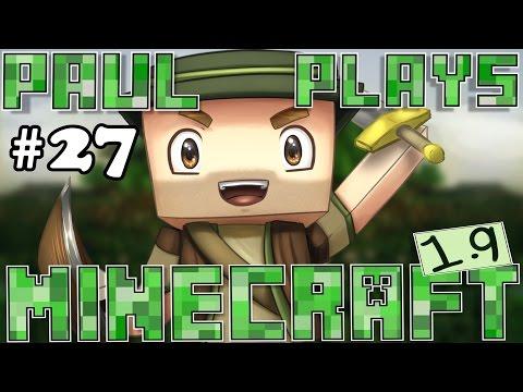 Paul Plays Minecraft - E27 - New Mesa Mine Shaft! (Minecraft Survival)