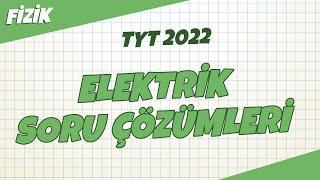 TYT Fizik - Elektrik Soru Çözümleri  TYT Fizik 2021 hedefekoş