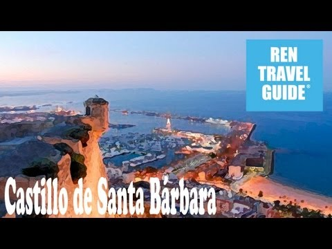 Santa Bárbara Castle, Alicante - Ren Travel Guide Travel Video