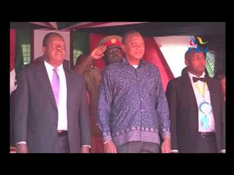 President Uhuru Kenyatta visits Kisumu City, presides over National drama festival