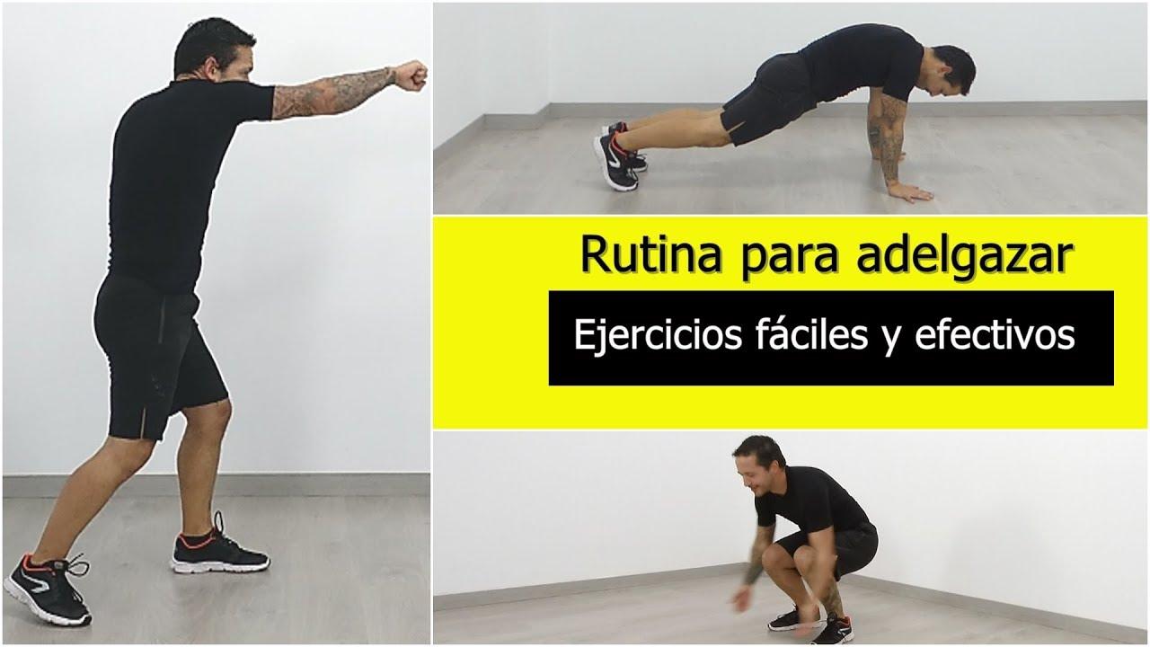 Peso perder ejercicios faciles para