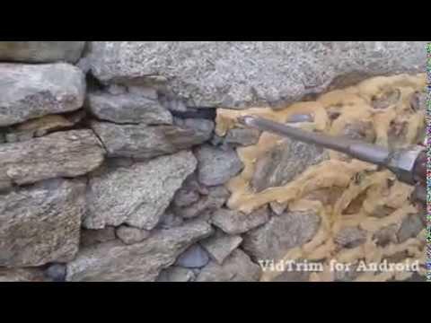 Maquina para encintar rejunte piedra natural youtube for Pintura para piedra natural