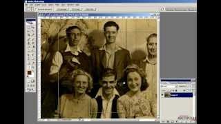 Учимся восстанавливать старые фотографии