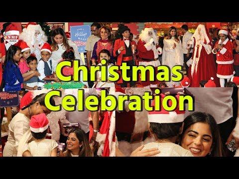 Christmas 2017: Mukesh Ambani's daughter Isha celebrates Christmas with underprivileged kids
