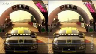 Dirt 2 PS3/Xbox comparision