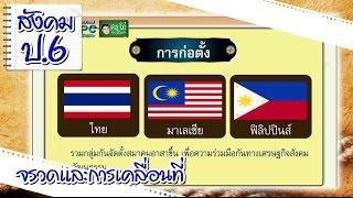 กลุ่มอาเซียน - สังคม ป.6