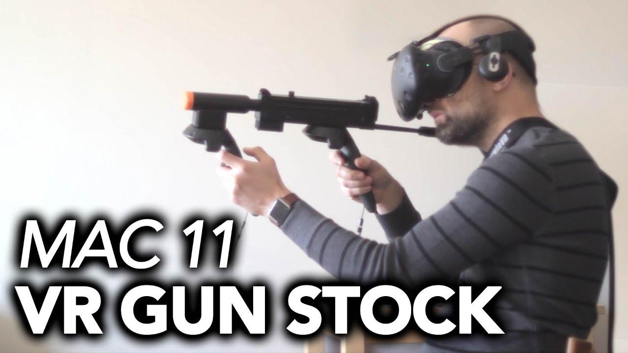 Mac11 VR Gunstock Review