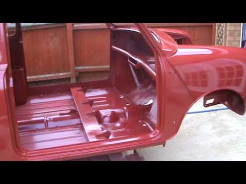 1960 Morris Mini Minor Restoration Part 5 Of 10 Youtube