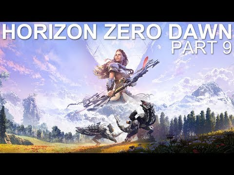 Horizon Zero Dawn - Livemin - Part 9 - Ancient Armory (Let's