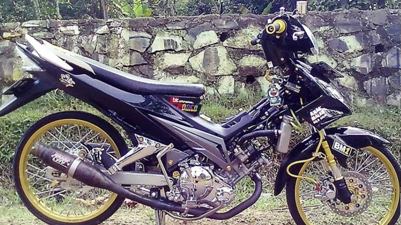 Motor modifikasi jupiter mx