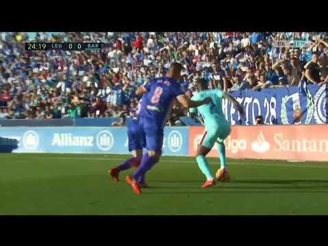 Nélson Semedo (Barca) vs Leganes (Away) 19/11/2017 HD