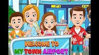 My Town Airport - mejor aplicación para los niños HD