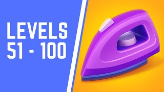 Perfect Ironing Game Walkthrough Level 51-100