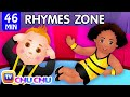 Head, Shoulders, Knees and Toes | Popular Nursery Rhymes Collection for Kids | ChuChu TV Rhymes Zone