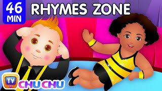 Head, Shoulders, Knees and Toes | Popular Nursery Rhymes Collection for Kids | ChuChu TV Rhymes Zone thumbnail