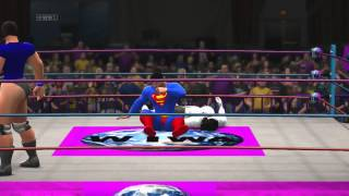 WIWA Wrestling Returns Match #1 Superman vs Photon