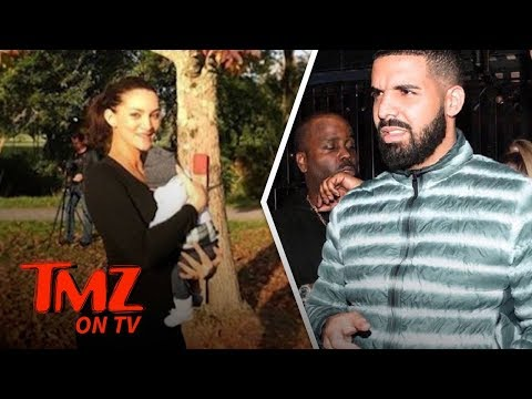 Drake's Maybe Babymama Jets to His Side!   TMZ TV