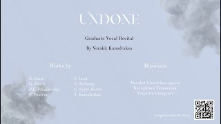 Recital 2021: Undone