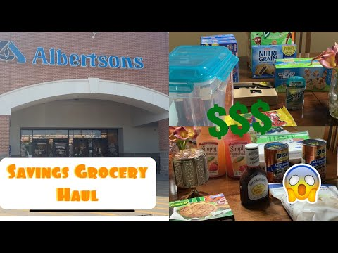 Albertsons Coupon Haul/ Kroger Deals And 99 Cents Store