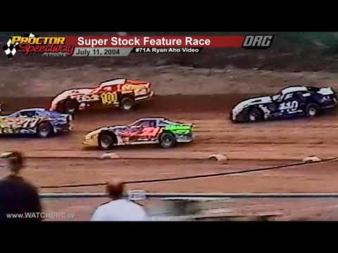Proctor Speedway 7/11/2004 WISSOTA Super Stock Feature - Ryan Aho
