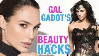 Gal gadot's beauty hacks! │ wonder woman skin care tips, makeup secrets, diet hacks you have to know
