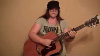 Emily Glazener - I'm on Fire (Bruce Springsteen Cover)