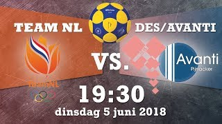 This is Korfball Tour 2018: TeamNL - DES/Avanti