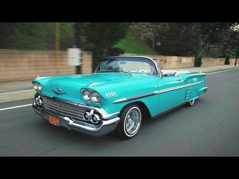 Steve Alvarez-Mott & His 1958 Chevrolet Impala - Lowrider Roll Models Ep. 1