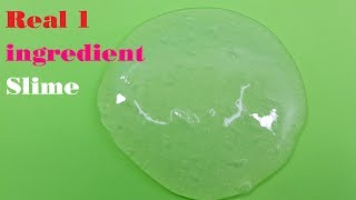 Real 1 ingredient Slime,only Gohnsons,Easy Slİme Recipe,No Glue,No Borax